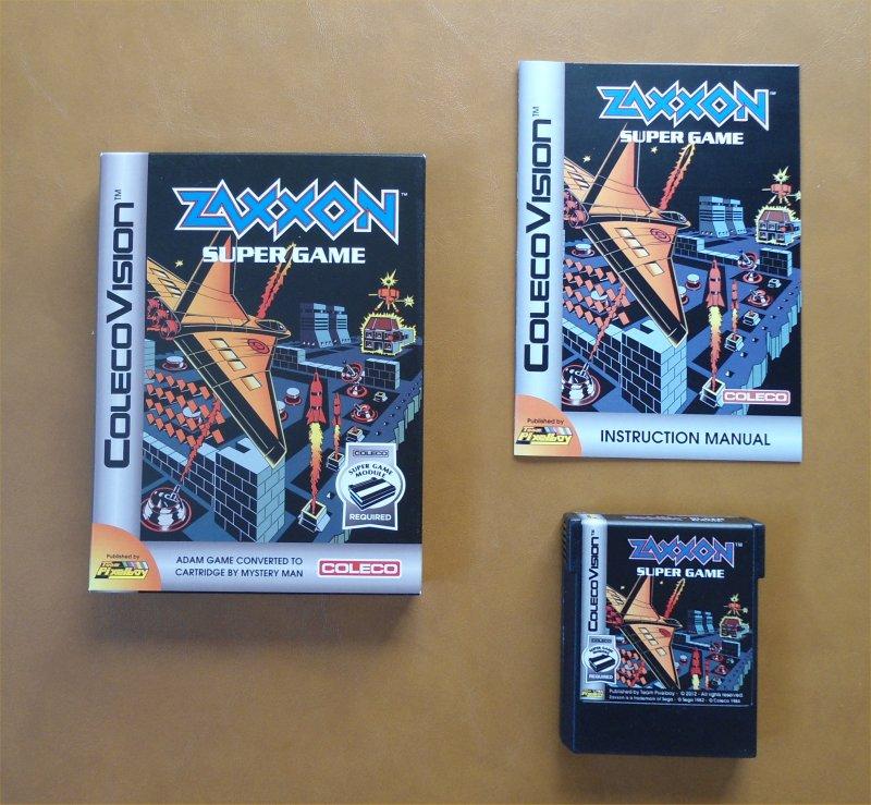 Team Pixelboy Official Web Site : Zaxxon Super Game