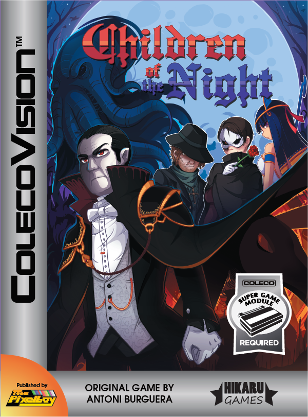 Team Pixelboy Official Web Site : Children of the Night