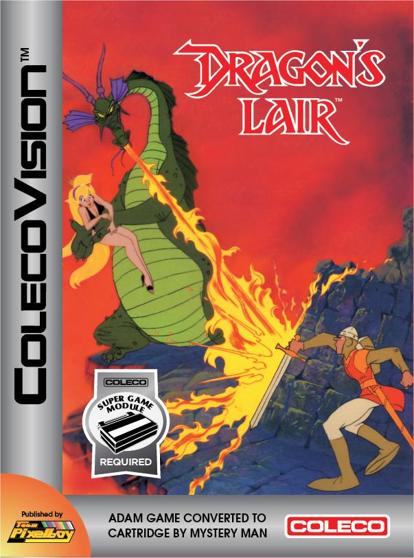 Team Pixelboy Official Web Site : Dragon's Lair